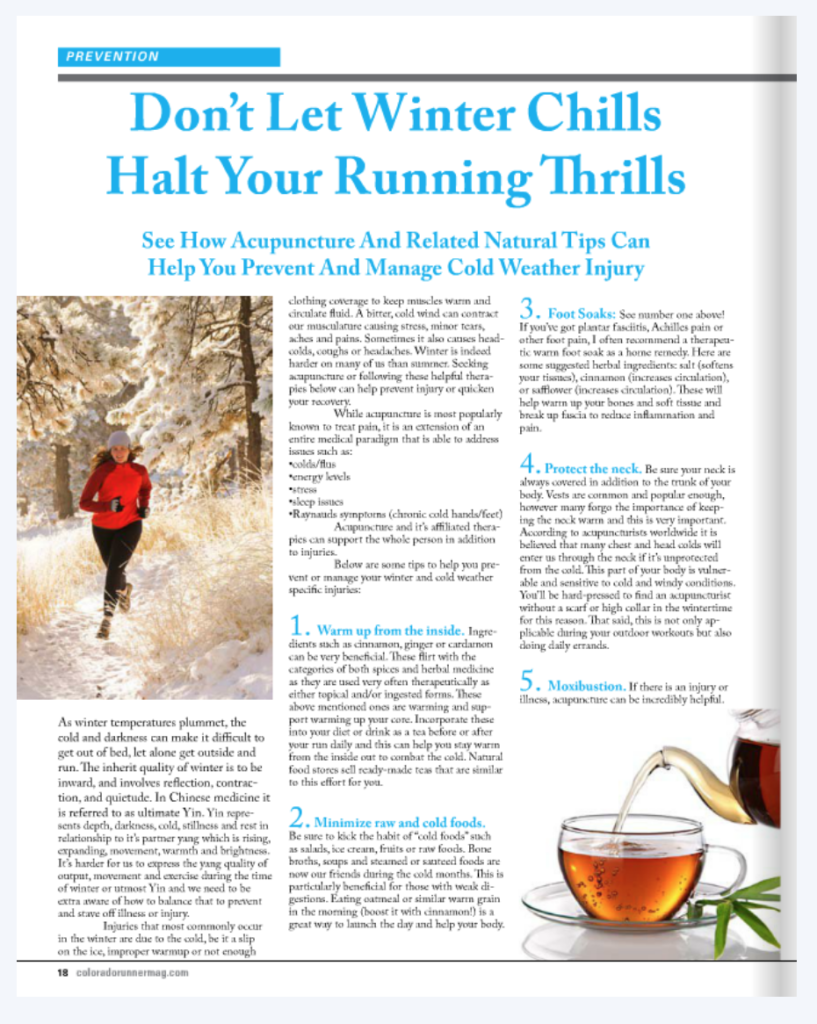 dont let winter chills half your running