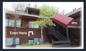 entrance to red aspen wellness